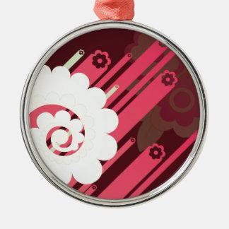 Gráficos de la flor ornamento para arbol de navidad