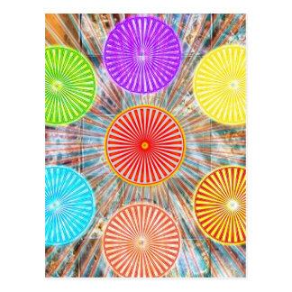 Gráficos de la terapia del color: Energía curativa Postales