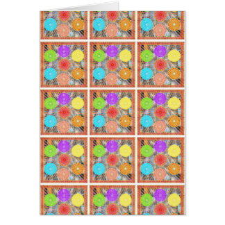 Gráficos de la terapia del color: Energía curativa Tarjeta De Felicitación