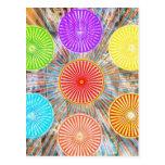 Gráficos de la terapia del color: Energía curativa Tarjetas Postales