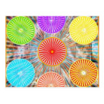 Gráficos de la terapia del color: Energía curativa Postal