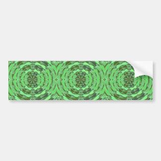 Gráficos del DIAMANTE del verde esmeralda Pegatina Para Auto
