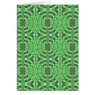 Gráficos del DIAMANTE del verde esmeralda Tarjeta De Felicitación