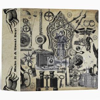 """Gráficos del vintage de Steampunk Carpeta 2"""""""