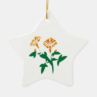 Gráficos LINDOS de la flor: BELLEZA en simplicidad Ornamento De Reyes Magos