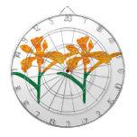 Gráficos LINDOS de la flor: BELLEZA en simplicidad Tablero Dardos