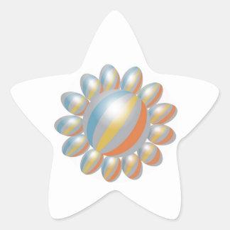 Gráficos simples: Presentación del amor Pegatinas Forma De Estrella