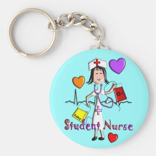 Gráficos únicos de los regalos 3D de la enfermera  Llaveros
