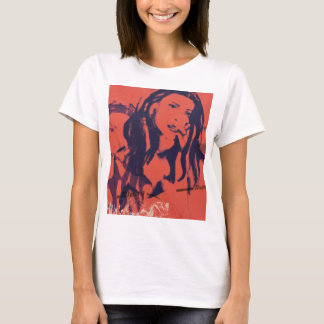 grafik girl cover art T-Shirt