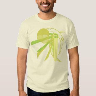 Grafik Green Skull T Shirt