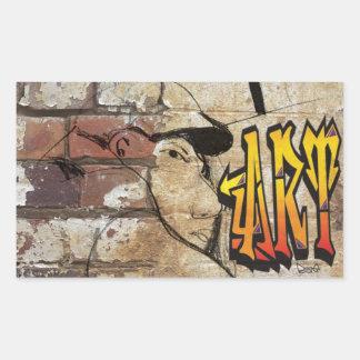 Grafiti Artist Rectangular Sticker