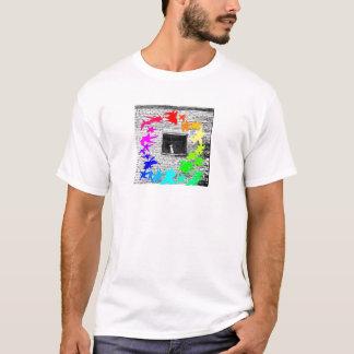 Grafiti color wheel T-Shirt