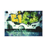 grafiti de cross! lienzo envuelto para galerías