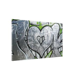 Grafiti metallic - Canvas Impresiones De Lienzo
