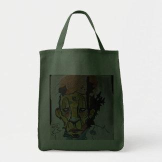 Grafitti Art Canvas Bag