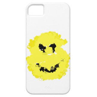 Grafitti Grunge Smile Hand Painted iPhone 5 Case