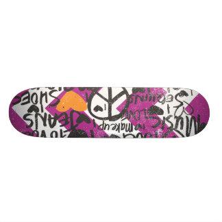 Grafitti Orange Skate Decks