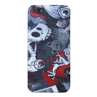 Grafitti skin for Iphone iPhone 5 Cover