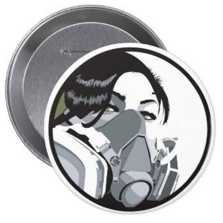 grafmask pinback button