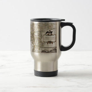 Grafschaft Mark 1791 Friedrich - Old map Travel Mug