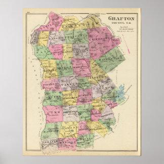Grafton County, NH Poster