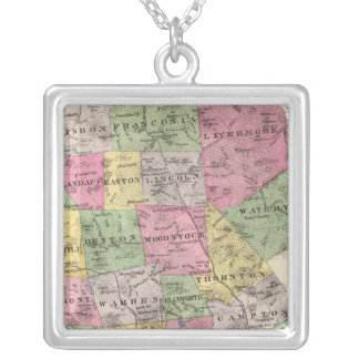 Grafton County, NH Silver Plated Necklace