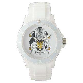 Grafton Family Crest Wrist Watch