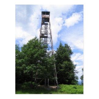 grafton fire tower postcard