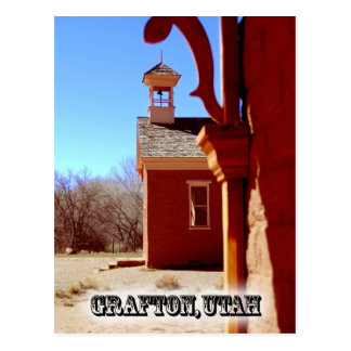 Grafton Ghost Town Postcard