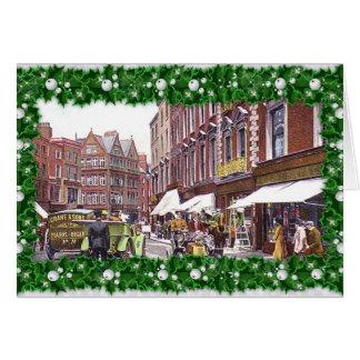 Grafton Street, Dublin Christmas Card