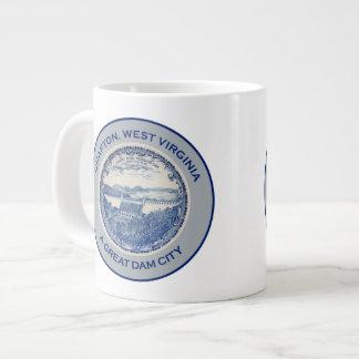 Grafton, West Virginia - A Great Dam City Large Coffee Mug