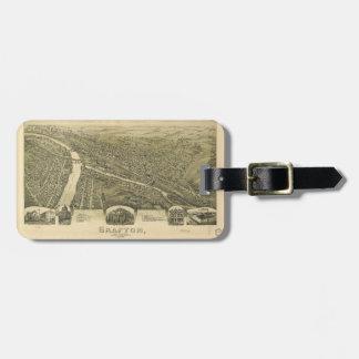 Grafton West Virginia by Fowler & Downs (1898) Bag Tag