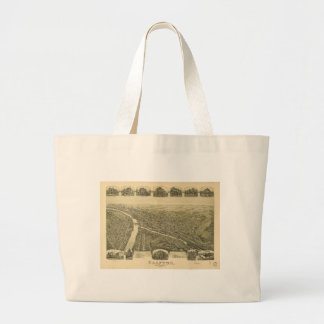 Grafton West Virginia by Fowler & Downs (1898) Large Tote Bag