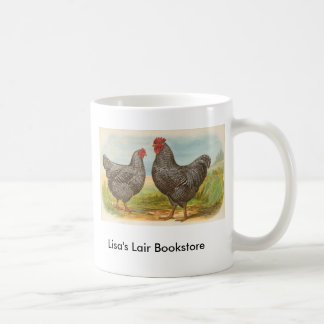 Graham - Barred Plymouth Rocks Chickens Promo Mugs