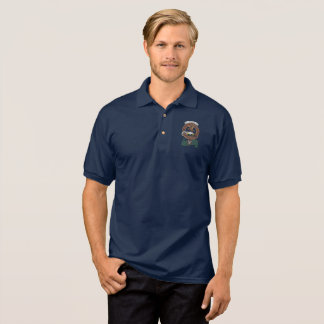 Graham Clan Badge Adult Polo Shirt