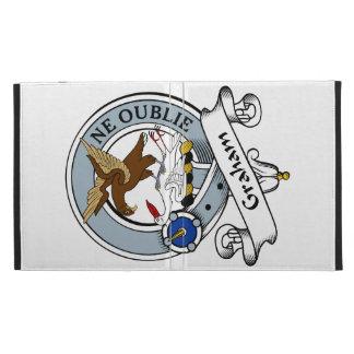 Graham Clan Badge iPad Folio Covers