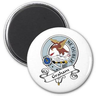 Graham Clan Badge Refrigerator Magnets