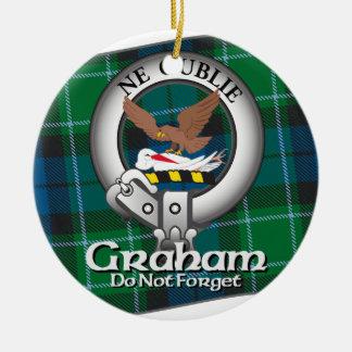 Graham Clan Ceramic Ornament
