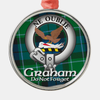 Graham Clan Metal Ornament