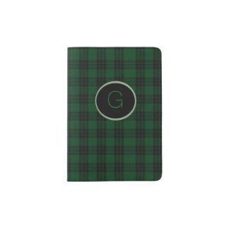 Graham Clan Plaid Personalized Passport Holder