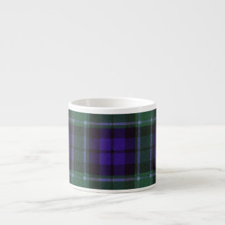 Graham clan Plaid Scottish tartan Espresso Cup