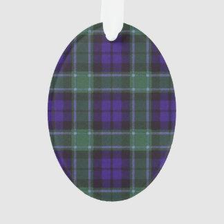Graham clan Plaid Scottish tartan Ornament