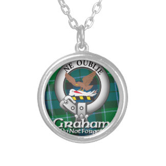 Graham Clan Silver Plated Necklace