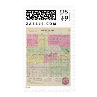 Graham County, Kansas Postage Stamps