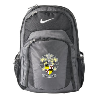 Graham Family Crest Coat of Arms Nike Backpack