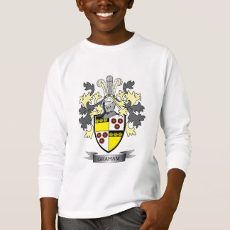 Graham Family Crest Coat of Arms T-Shirt