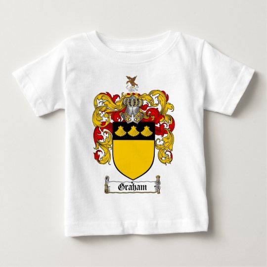 GRAHAM FAMILY CREST -  GRAHAM COAT OF ARMS BABY T-Shirt