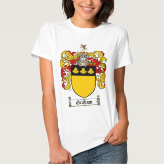 GRAHAM FAMILY CREST -  GRAHAM COAT OF ARMS T SHIRTS