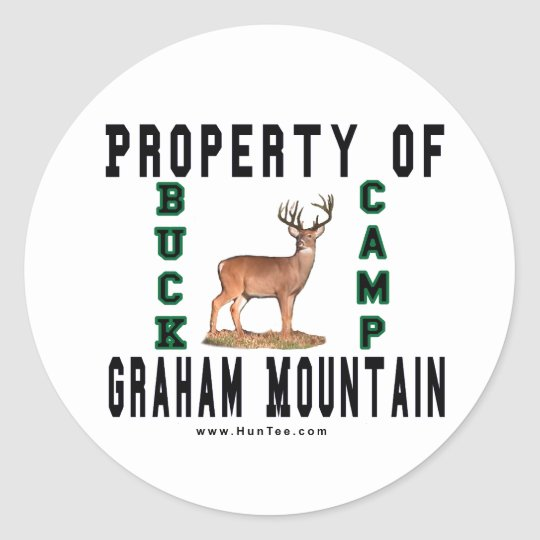 Graham Mountain Buck Camp Exclusive Stickers