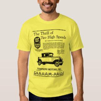 GRAHAM-PAIGE AUTOMOBILE 1929 TEE SHIRT
